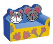 Sofá Gato e Rato