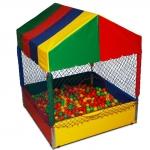 Piscina de Bolinha Premium 1,50 x 1,50 c/ 1.500 bolinhas